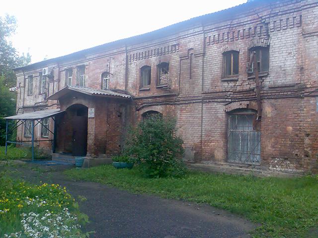 Административный корпус ГБ-1 Красноярска