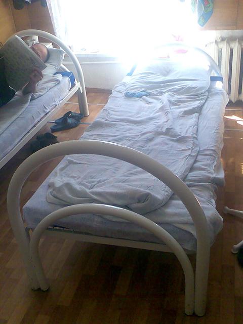 ГБ-1 Красноярска - кровать