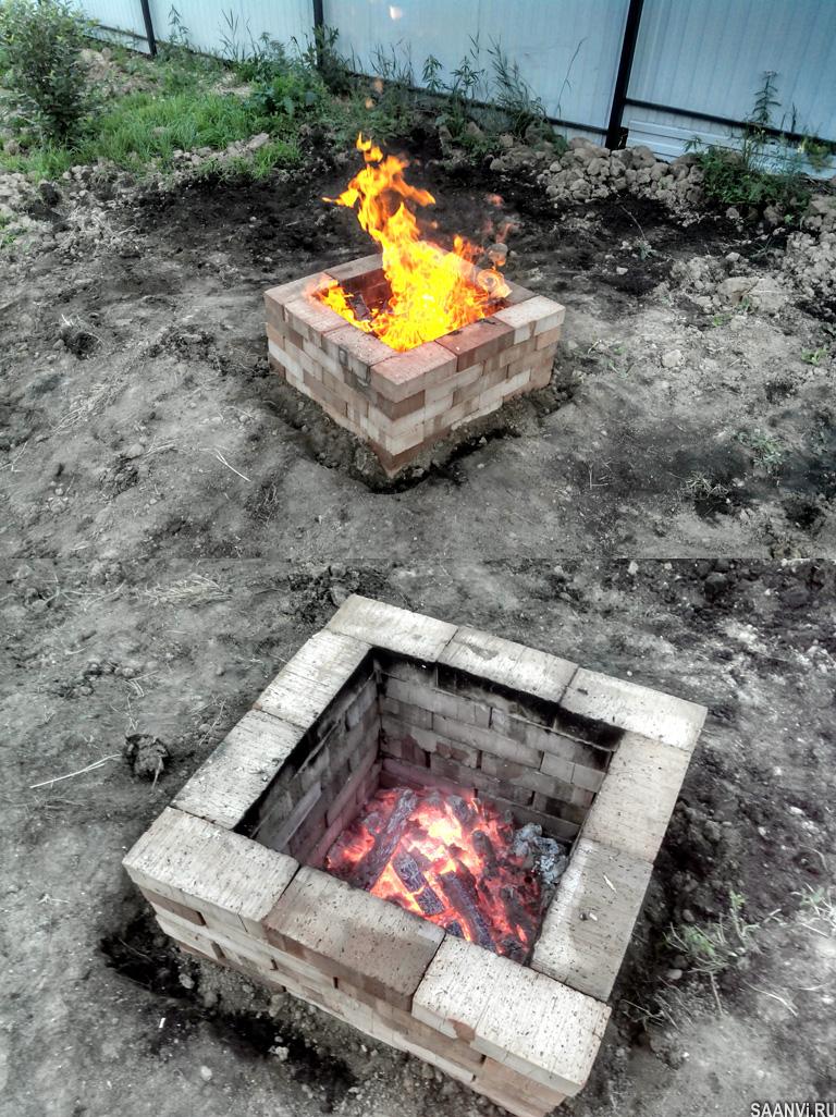 дачный камин