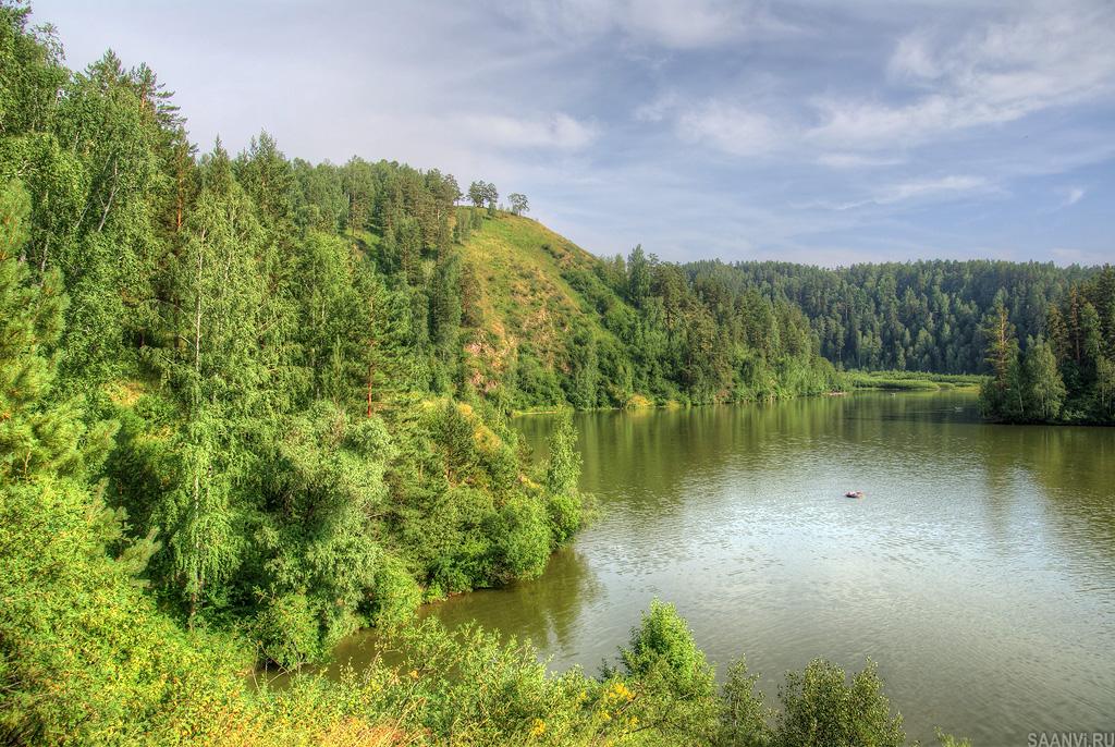 полученная озера в близи красноярска моими родителями
