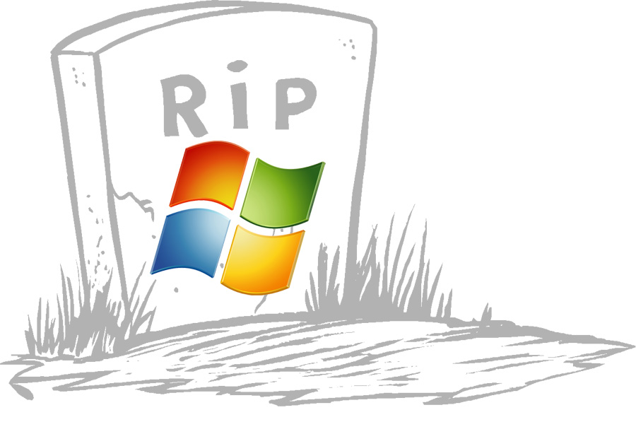 Windows 7 R.I.P.