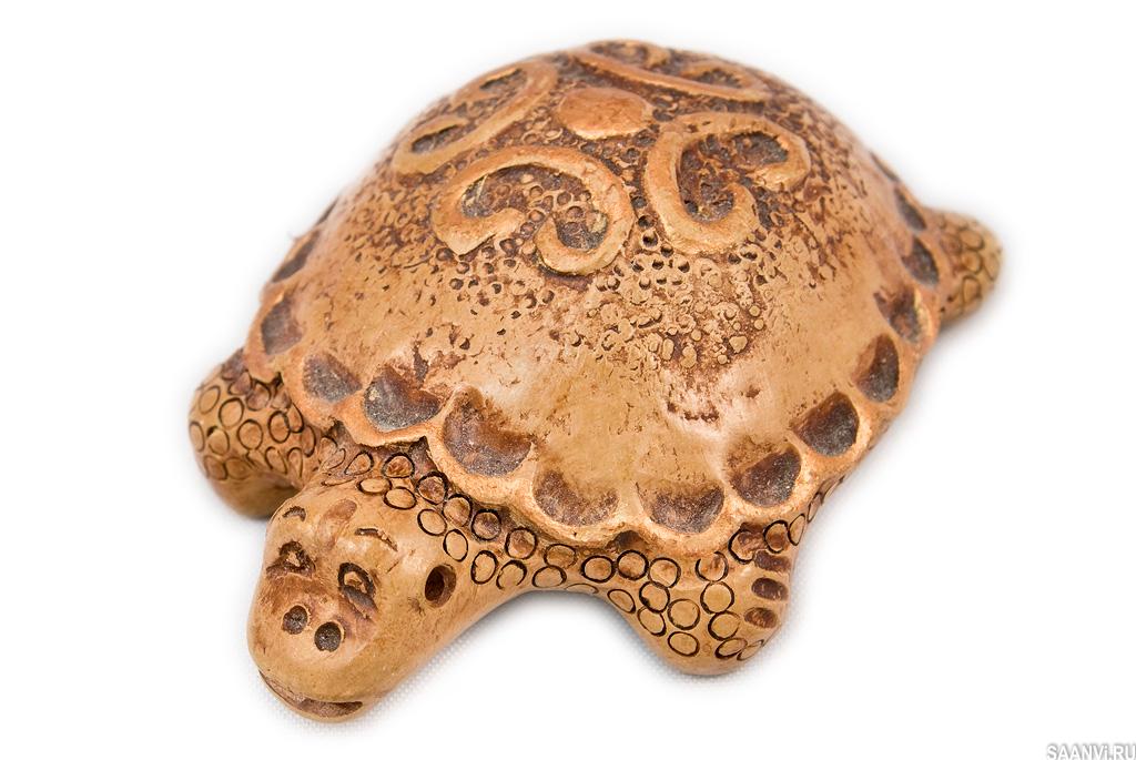 глиняная черепаха